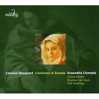 Hacquart / Scheen / Van Dyck / Ensemble Clematis - Cantiones & Sonate [CD] USA import
