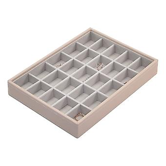Stackers Blush Pink Classic 25 Section Jewellery Tray