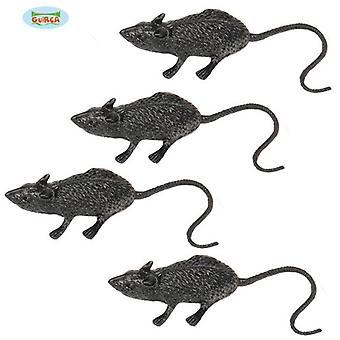 Guirca Bag 4 Rats 6 Cm (Babies and Children , Costumes)