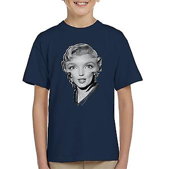 Marilyn Monroe The Prince And The Showgirl 1956 Kid's T-Shirt