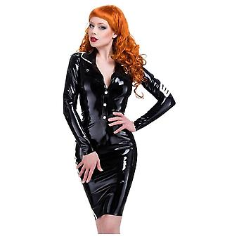 Westward Bound Military Fitted Latex Rubber Jacket.