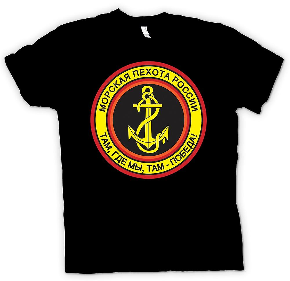 Womens T-shirt - Russian Naval Infantry
