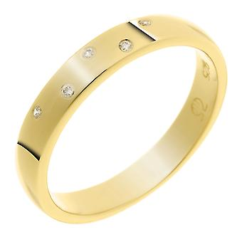 Orphelia Silver 925 Ring Gold  Zirconium   ZR-7130/G