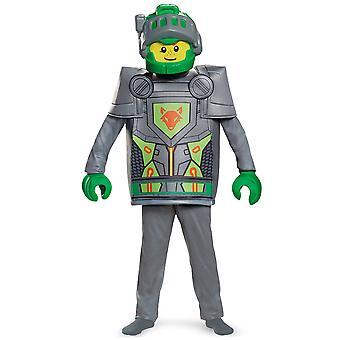 Aaron Deluxe LEGO Nexo Ritter Minifigur mittelalterlichen jungen Kostüm