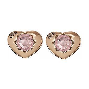 Gissa mina damer örhängen rostfritt stål Rosé guld hjärta UBE21547