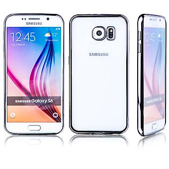 Premium TPU Silikoncase black for Samsung Galaxy S6 G920 G920F