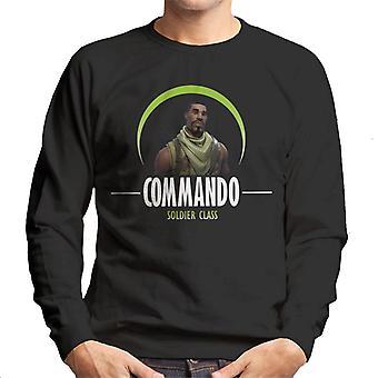 Fortnite Commando Soldat Klasse Herren Sweatshirt