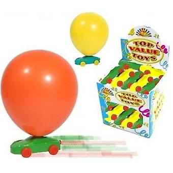 15 Balloon Racer Cars - 303-007