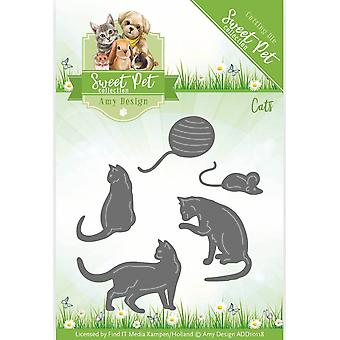 Find It Trading Amy Design Sweet Pet Die-Cats