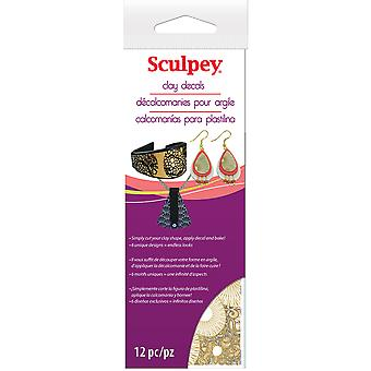 Sculpey Clay Decals-