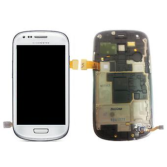 Samsung Galaxy S3 Mini i8190 White LCD - GH97-14204A