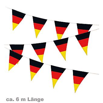 Pennant Garland fan party football Germany