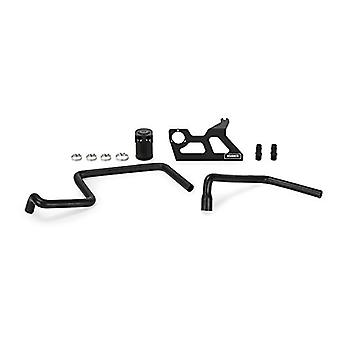 Mishimoto MMBCC-WR6-07PBE Black Baffled Oil Catch Can (Jeep Wrangler JK 2007-2011)