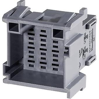 TE Connectivity Socket enclosure - cable J-P-T Total number of pins 12 Contact spacing: 5 mm 1-967627-6 1 pc(s)