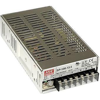 AC/DC PSU module (+ enclosure) Mean Well SP-100-24 24 Vdc 4.2 A 100 W