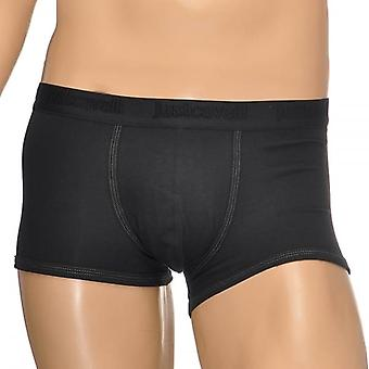 Just Cavalli Cotton Stretch Boxer Trunk, Black, X Large