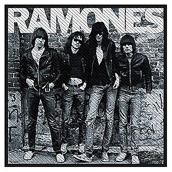 Ramones 1976 Sew-On Cloth Patch 100Mm X 100Mm