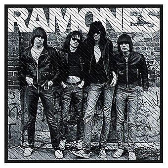 Ramones 1976 Sew-On Cloth Patch 100Mm X 100Mm