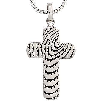 Pendant cross necklace stainless steel cross pendant stainless steel Matt