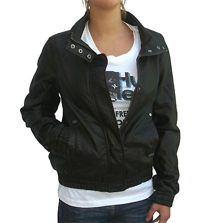 Babich Leather Look Fashion Jacket