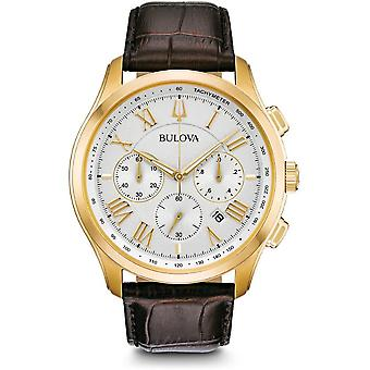 Bulova mens watch classic chronograph 97 B 169