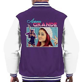 Ariana Grande Tribute Montage Men's Varsity Jacket