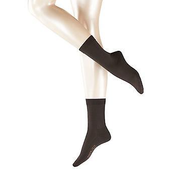 Falke Wool Balance Midcalf Socks - Dark Brown