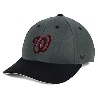 Washington Nationals MLB 47 Brand Kids MVP Two Tone Adjustable Hat