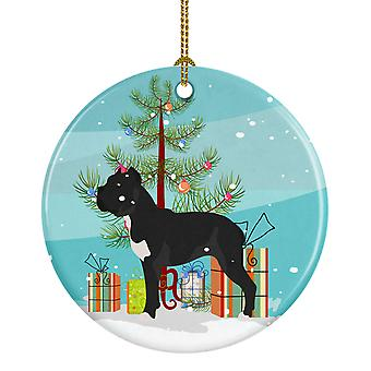 Carolines Treasures  BB8507CO1 Cane Corso Christmas Ceramic Ornament