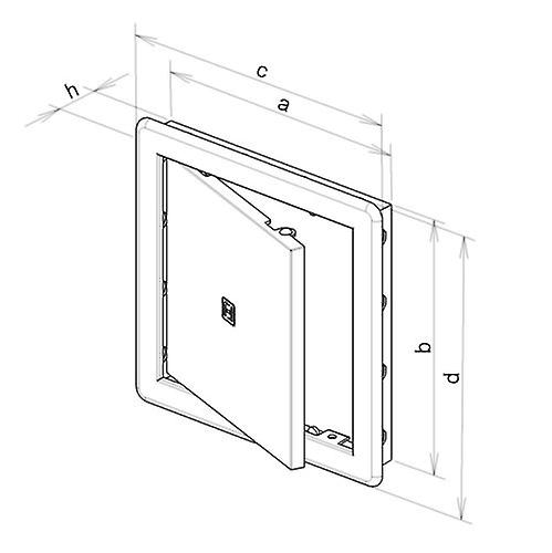 Access Panel - Inspection Hatch - Revision Door - For 200 x 200 mm Opening