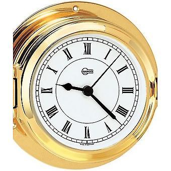 Barigo marine porthole quartz ship clock 1327MS