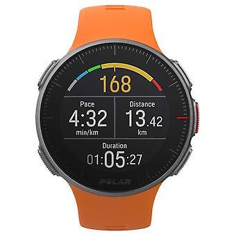 Sehen Sie Polar Vantage V Orange GPS Multisport Premium Training HR 90070738