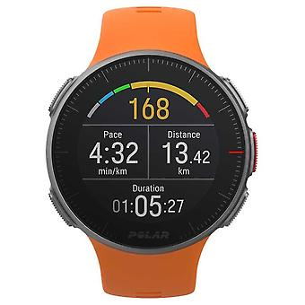 Polar Vantage V oranje GPS Multisport Premium opleiding HR 90070738 kijken