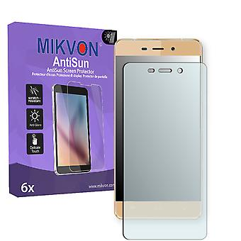 Allview X3 Soul Mini Screen Protector - Mikvon AntiSun (Retail Package with accessories) (reduced foil)