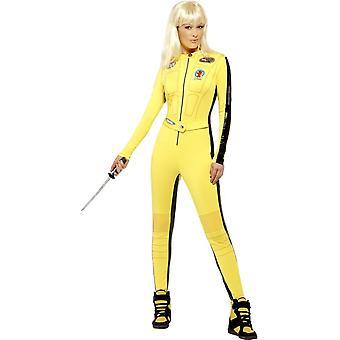 Kill Bill Costume, UK Dress 8-10