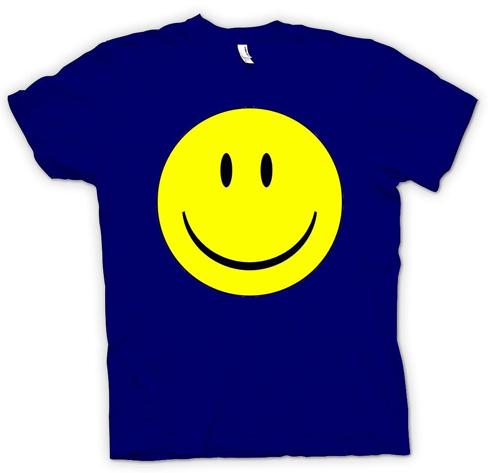 Heren T-shirt - miley Face - Acid House