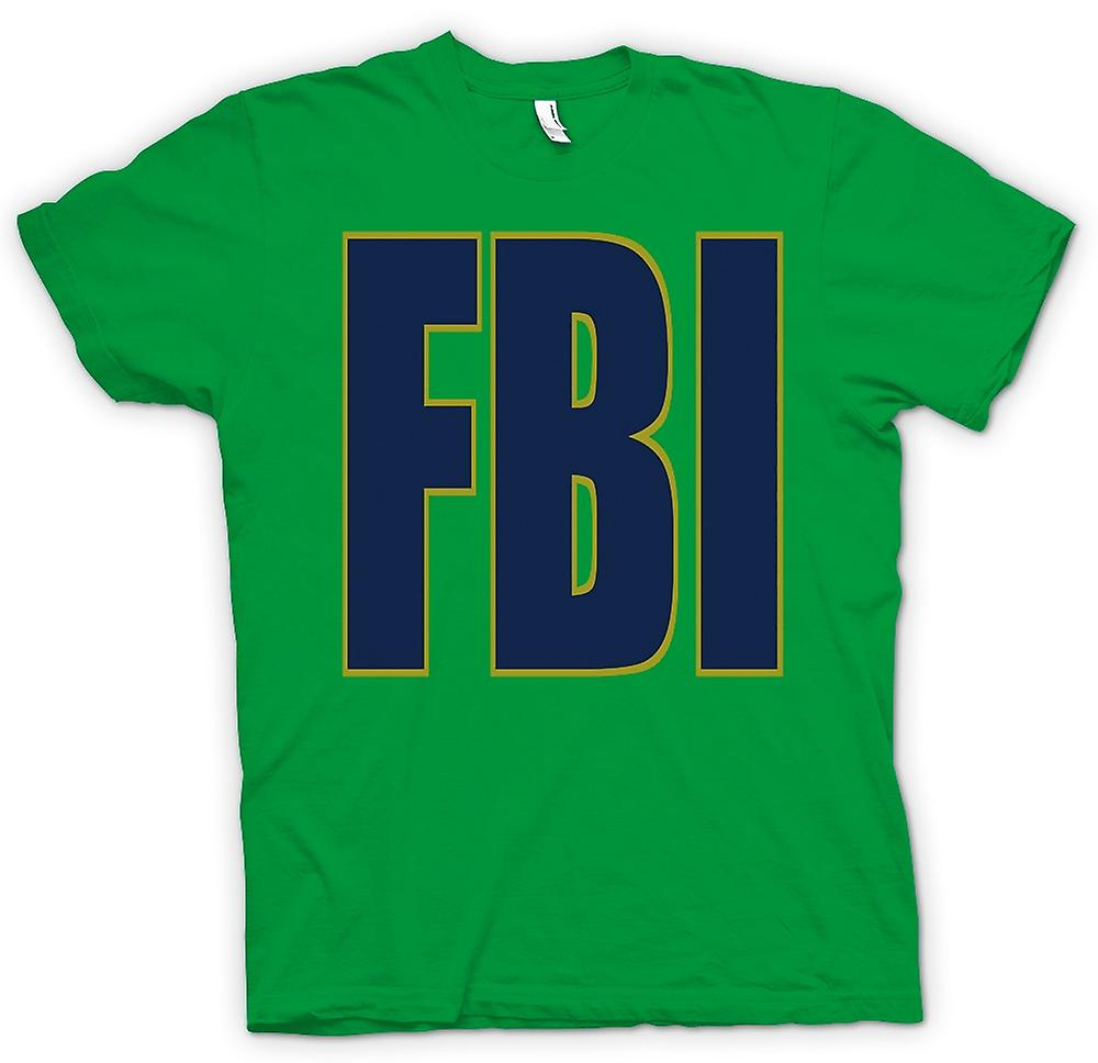 Mens T-shirt - FBI Military - Slogan