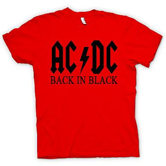 Womens T-shirt - AC/DC Back In Black - Rock