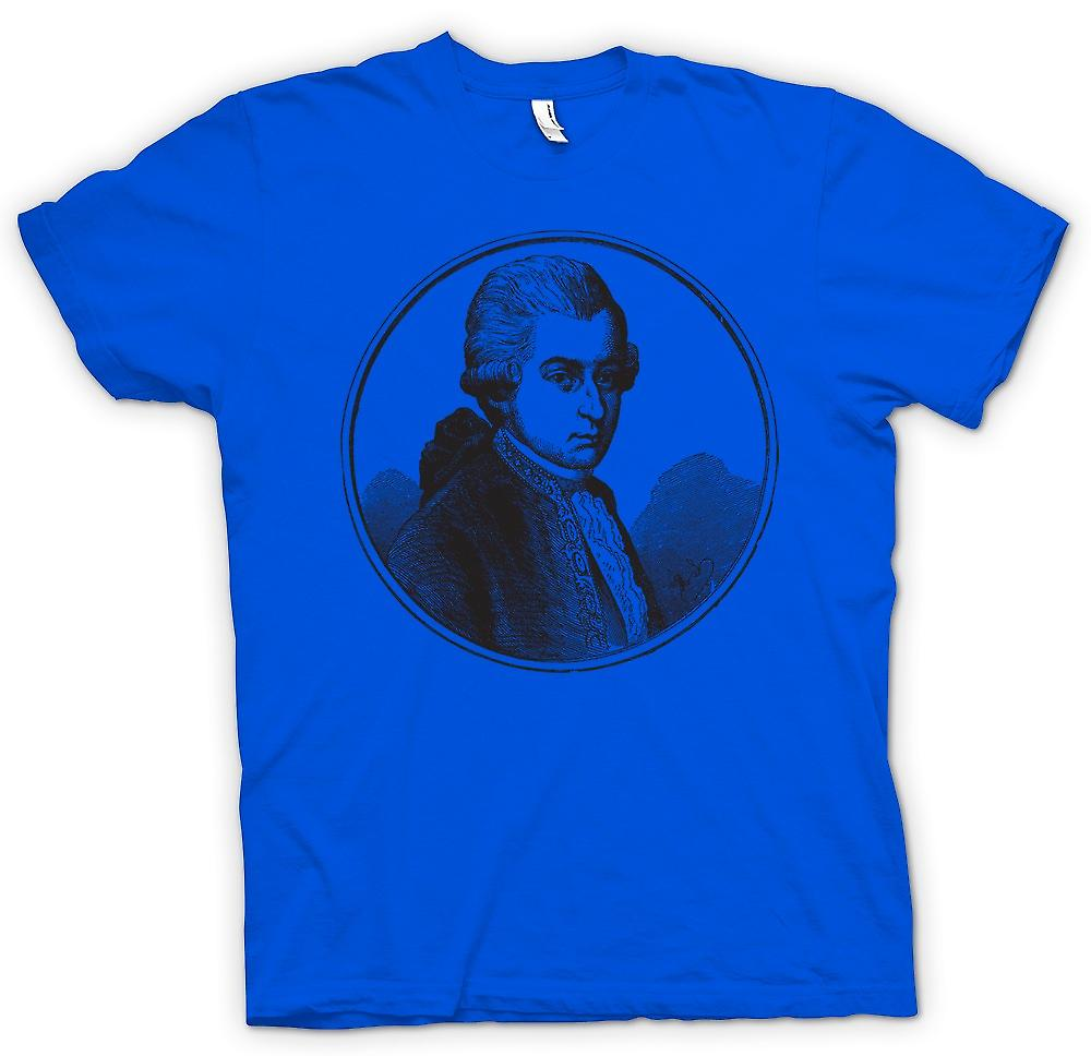 Mens T-shirt - Wolfgang Amadeus Mozart