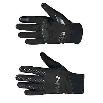 Northwave Black Core Full-Mid Season Cycling Gloves