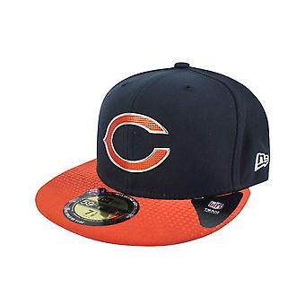 New Era 59Fifty NFL Chicaco Bears Draft Cap Blue