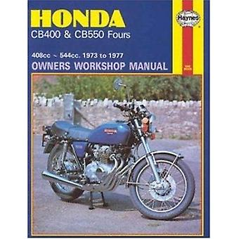 Honda 400 and 550 Fours Owner's Workshop Manual by John Witcomb - 978