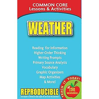 Weather Common Core Lessons & Activities