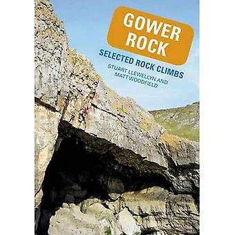 Gower Rock: Selected Rock Climbs