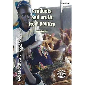 Producten en winst van pluimvee