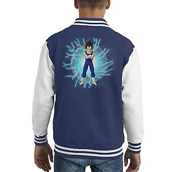 Dragon Ball Z Vegeta met Lightning Kid's Varsity Jacket