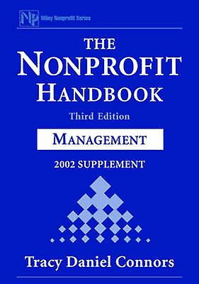 The Nonprofit Handbook 2002 SuppleHommest ManageHommest by Connors & Tracy Daniel