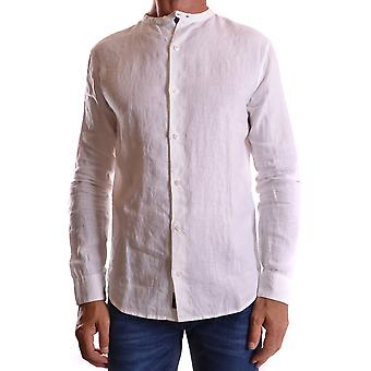 Armani Jeans White Cotton Shirt