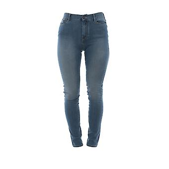 Karl Lagerfeld Blue Cotton Jeans