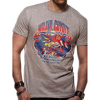 Mannen Looney Tunes Wile E Coyote ACME waaghals T-shirt